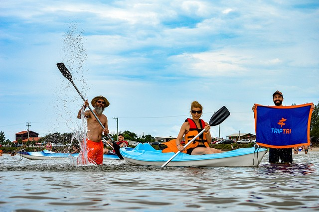 Lagoa azul - O paraíso de Bacupari-RS